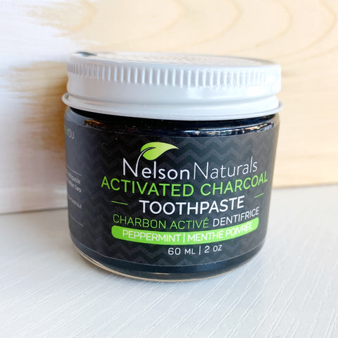 Nelson naturals Charcoal Toothpaste Powder - Majesty and Friends - available from Majesty and Friends