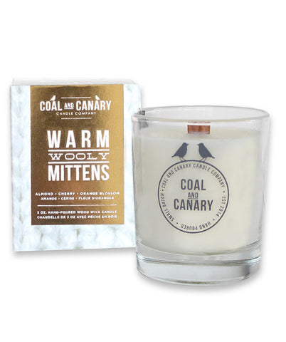 Warm Woolen Mittens Soy Candle