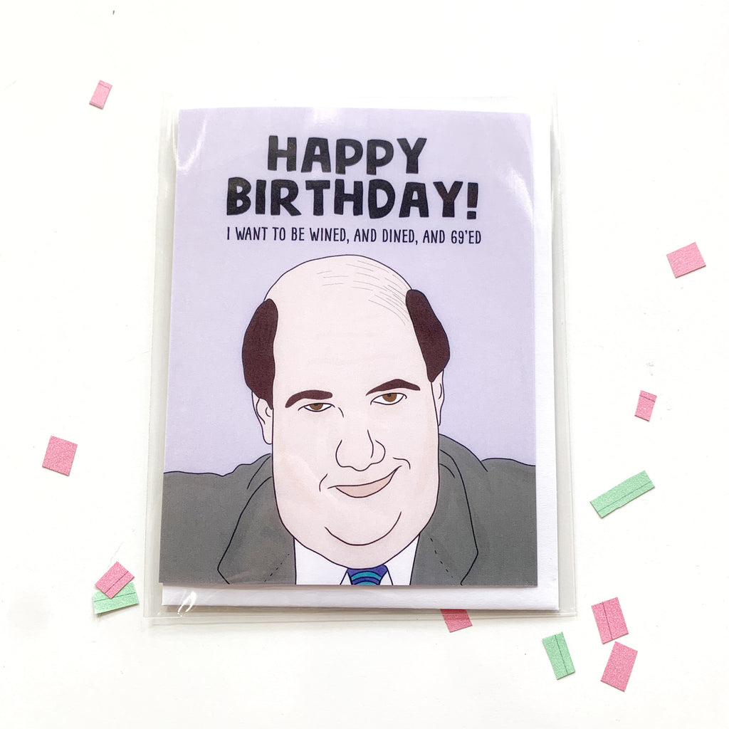 Card: Office! Happy Birthday Kevin - Majesty and Friends - available from Majesty and Friends