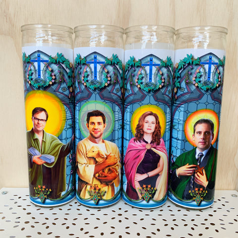 The Office Prayer Candle Set - Calm down Karen - available from Majesty and Friends