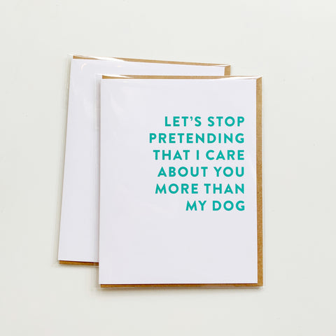 Card: Dog Lover - Majesty and Friends - available from Majesty and Friends