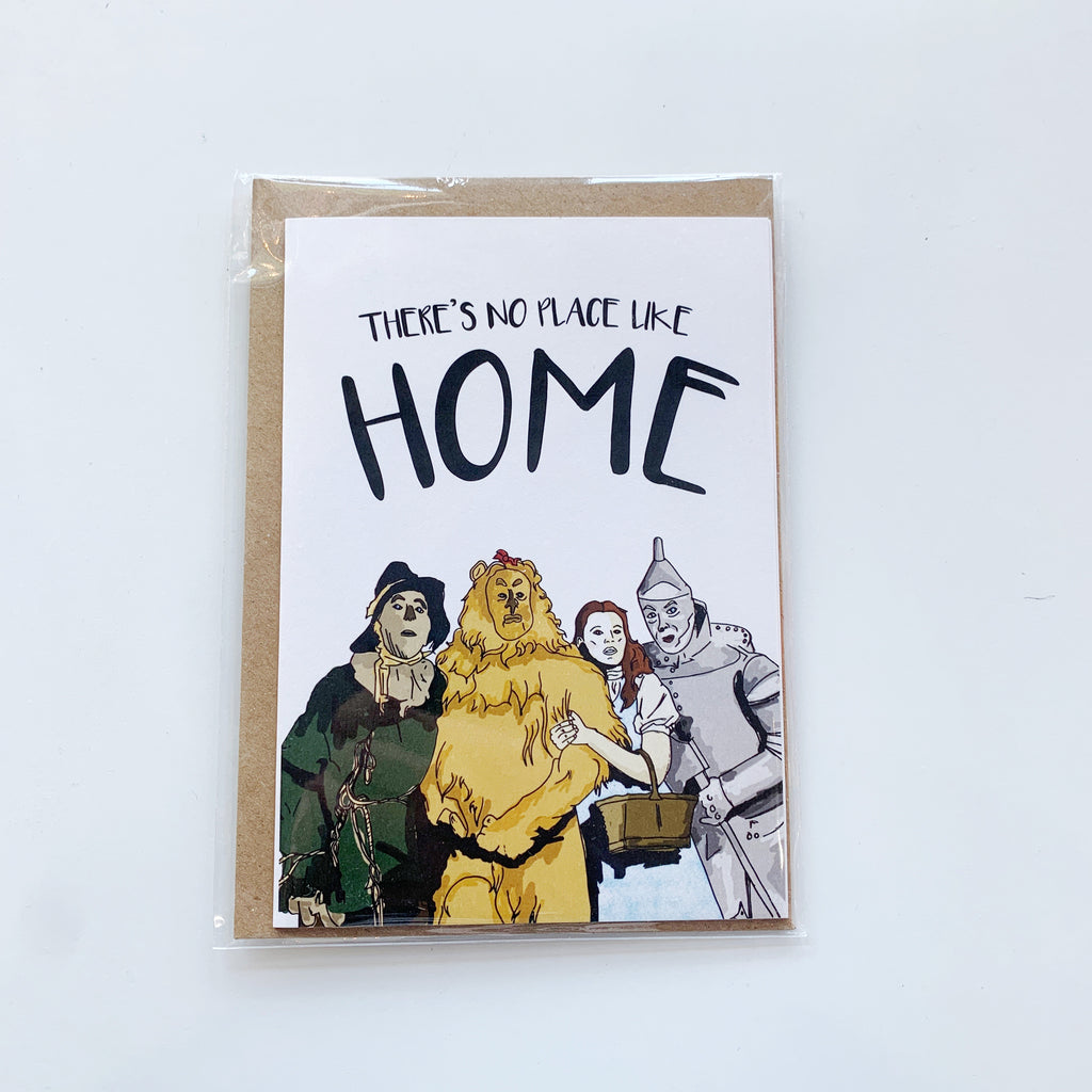 Card: No place like Home - Majesty and Friends - available from Majesty and Friends