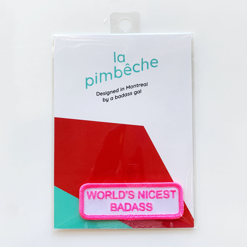 La Pimbeche bad ass patch - La pimbeche - available from Majesty and Friends