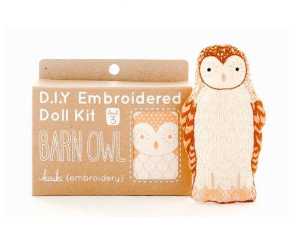 Embroider a Barn Owl