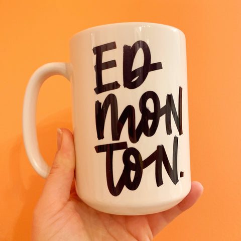 Exclusive Justine Ma Edmonton Mug - Justine ma - available from Majesty and Friends