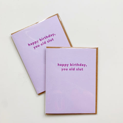 Card: Birthday SL%# (mature) - Majesty and Friends - available from Majesty and Friends