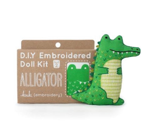 Embroider an Alligator!