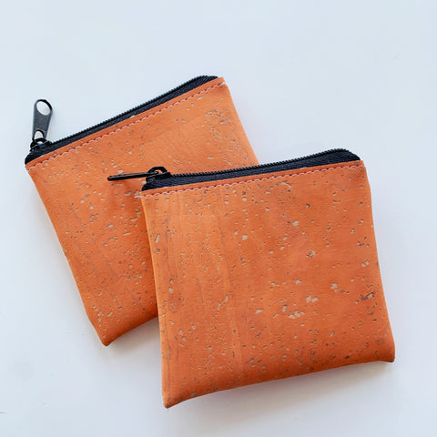Cork Pouch in Peach - Majesty and Friends - available from Majesty and Friends
