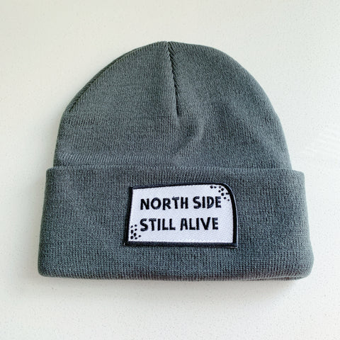 Northside Toque Charcoal Grey - Majesty and Friends - available from Majesty and Friends