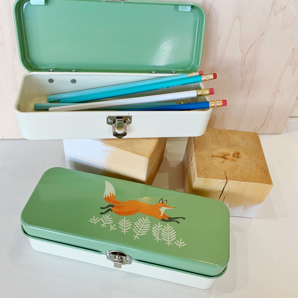 Fox Pencil Box!! - Danica - available from Majesty and Friends