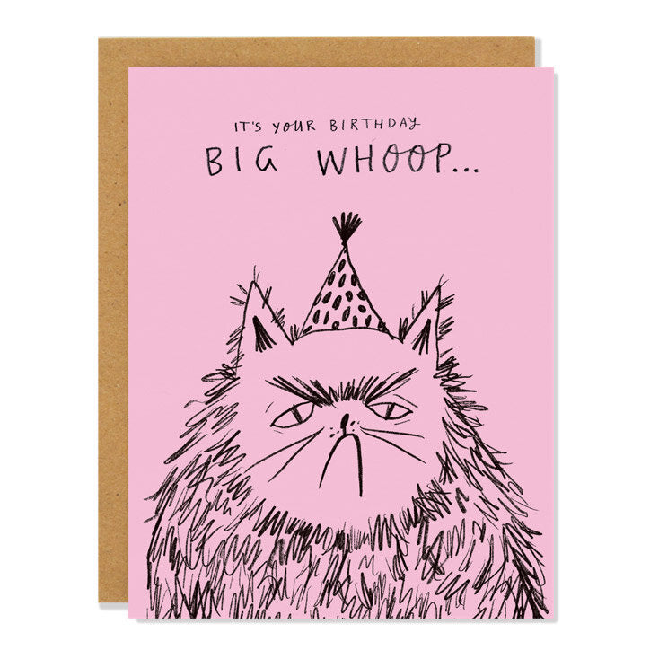 Card: Birthday Cat