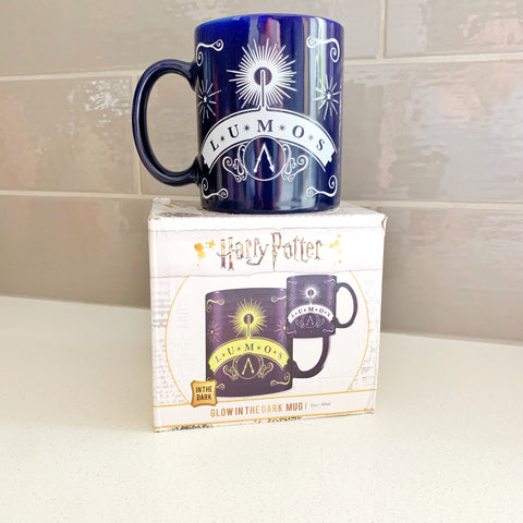 Lumos! Glow in the dark Mug
