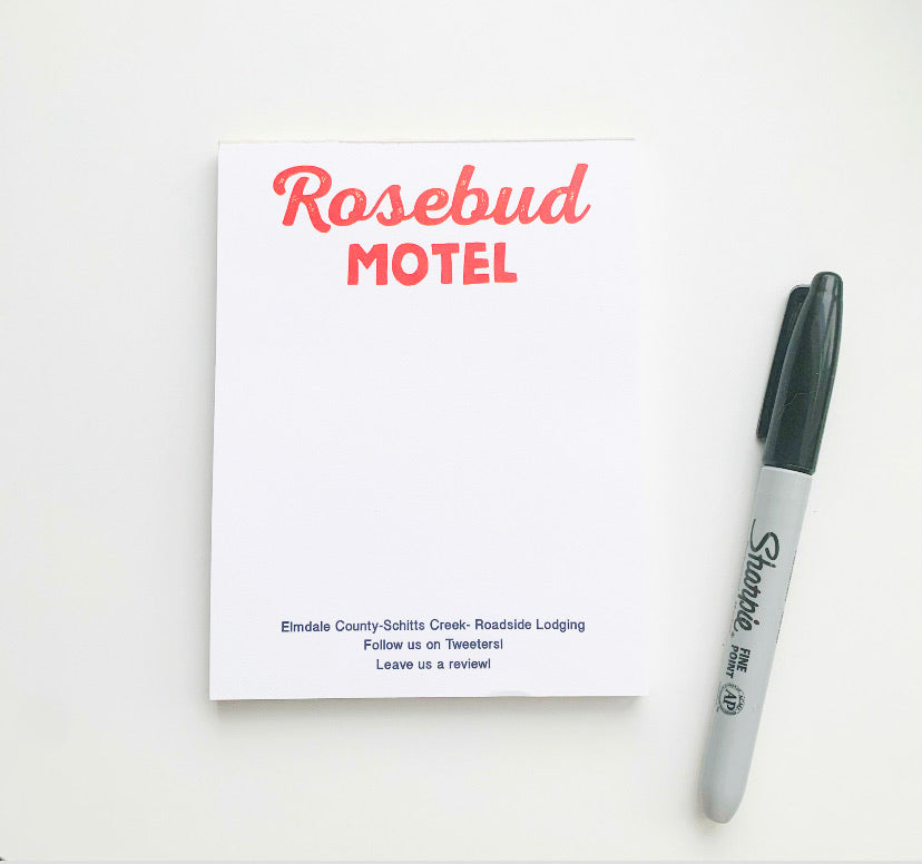 Rosebud Motel Desk Pad