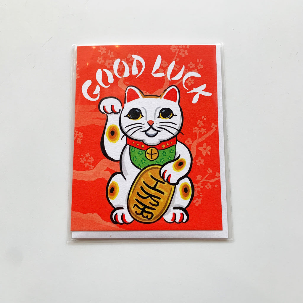 Card: Good Luck - Majesty and Friends - available from Majesty and Friends