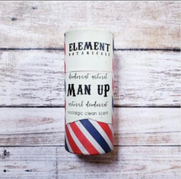 Element Botanicals Man Up Natural Deodorant - Element Botanicals - available from Majesty and Friends