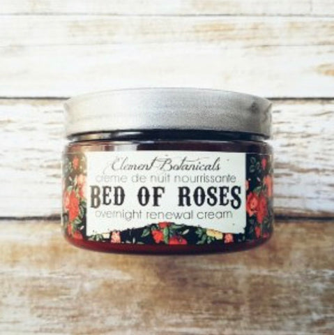 Element Botanicals Bed of Roses Overnight Cream - Element Botanicals - available from Majesty and Friends