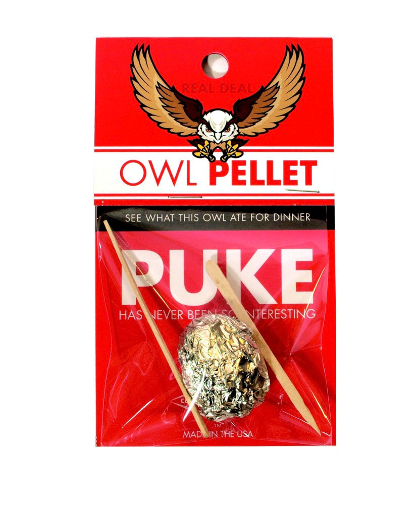 Owl Pellet! - Majesty and Friends - available from Majesty and Friends
