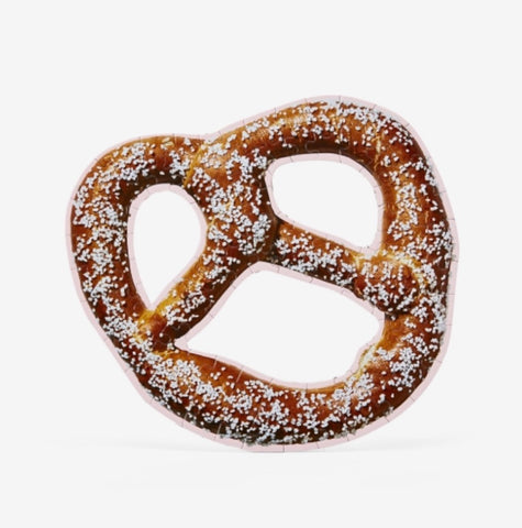 Soft Pretzel Puzzle from Areaware©️ - Areaware - available from Majesty and Friends