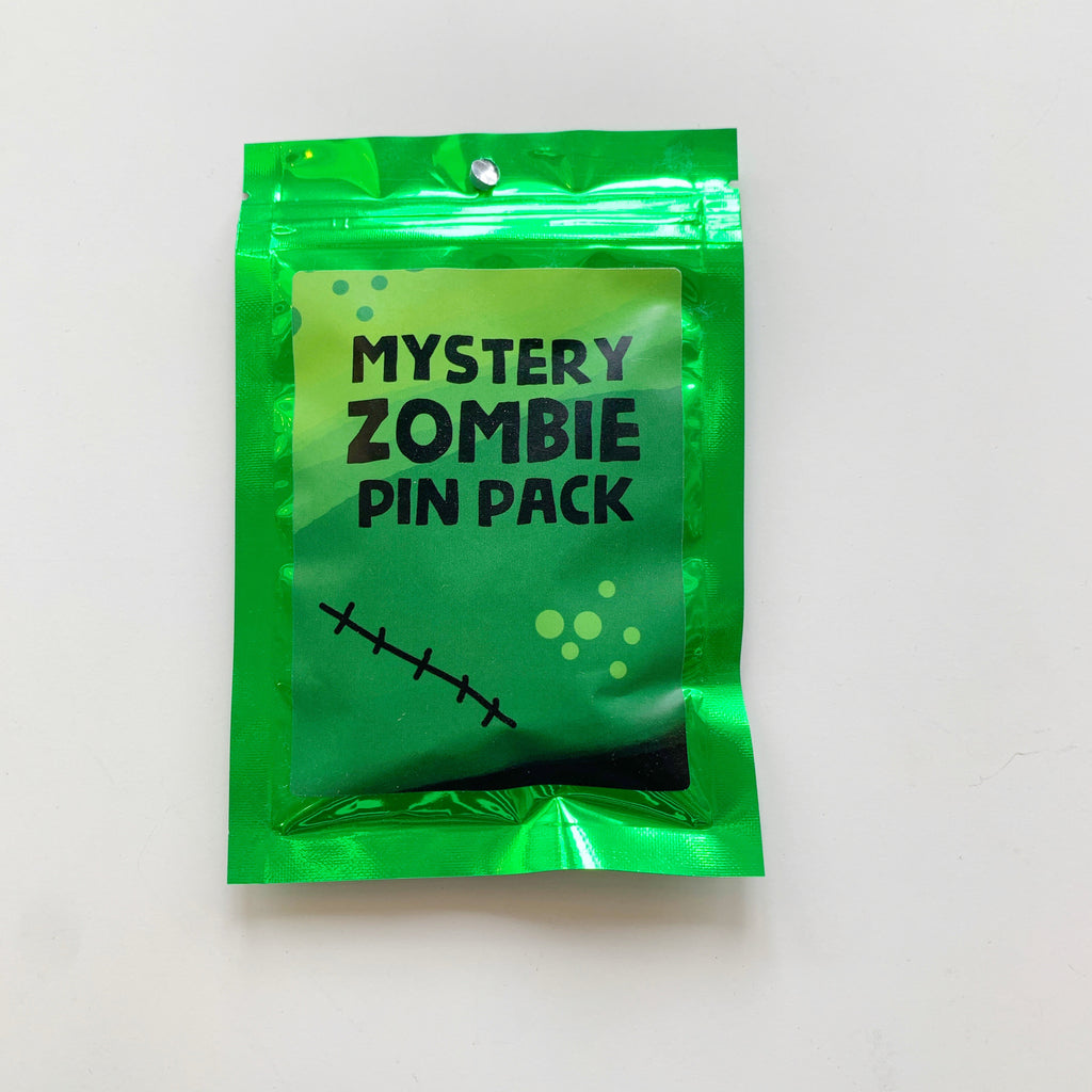 Zombie Mystery Pin Pack! - Majesty and Friends - available from Majesty and Friends