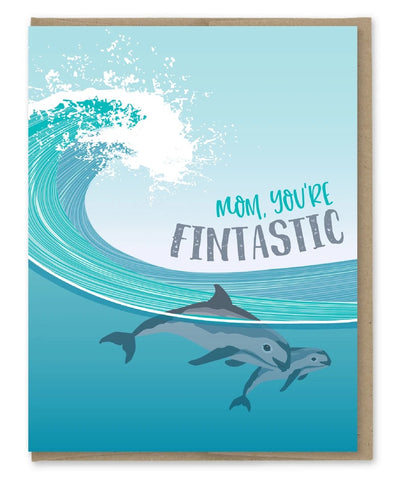 Card: Mothers Day, You're Fintastic!