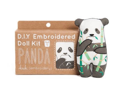 Embroider a Panda!