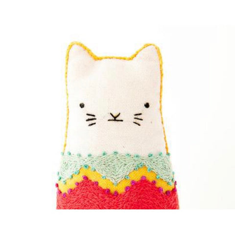 Embroider a Cat!