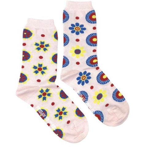 Friday Socks Modern flowers - Friday socks - available from Majesty and Friends