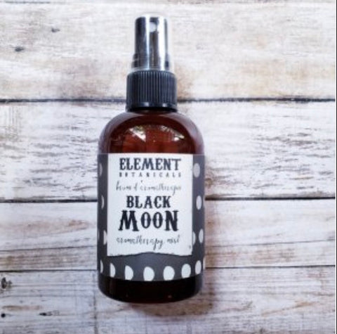Element Botanicals Black Moon Aromatherapy Mist - Element Botanicals - available from Majesty and Friends