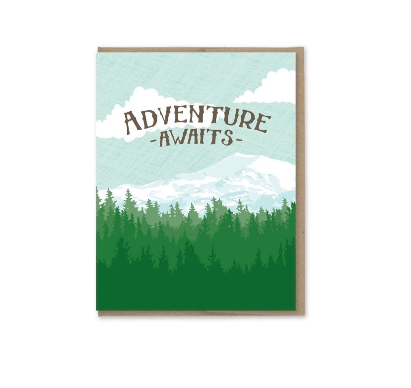 Card: Adventure Awaits
