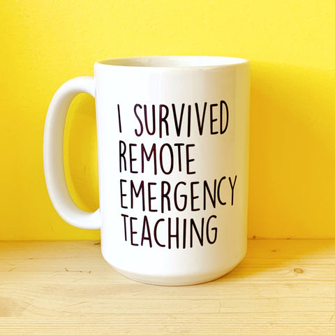 Teacher gift! I survived!