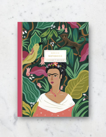 Frida Lined notebook