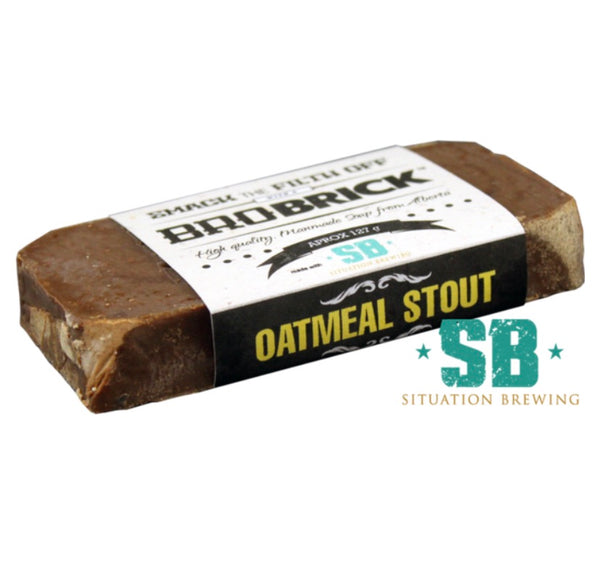 Brobrick Soap Oatmeal Stout - Brobrick - available from Majesty and Friends