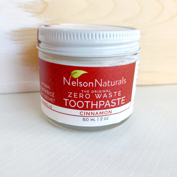 Nelson naturals Toothpaste Powder Cinnamon - Majesty and Friends - available from Majesty and Friends