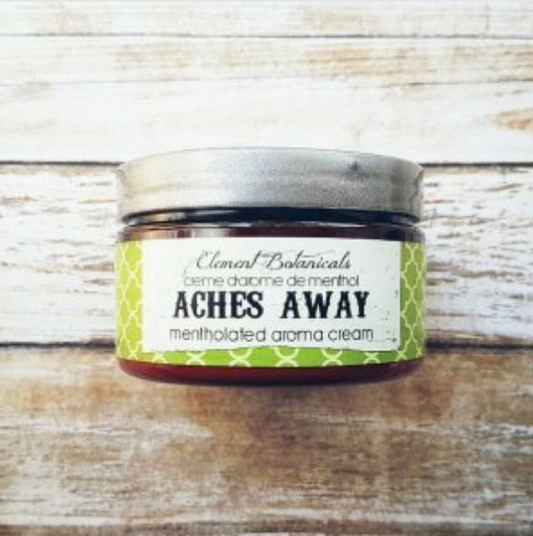Element Botanicals Aches away cream - Element Botanicals - available from Majesty and Friends