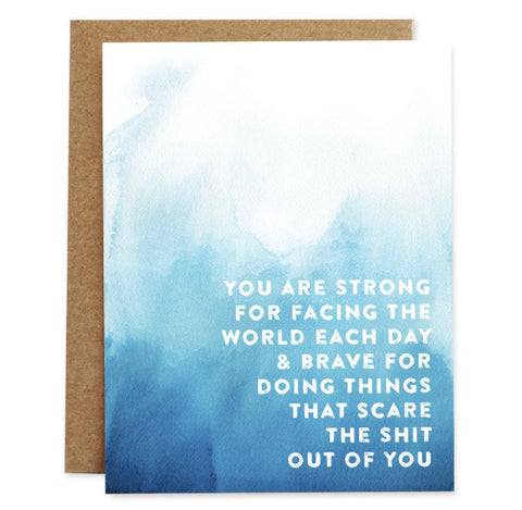 Card: You are Brave