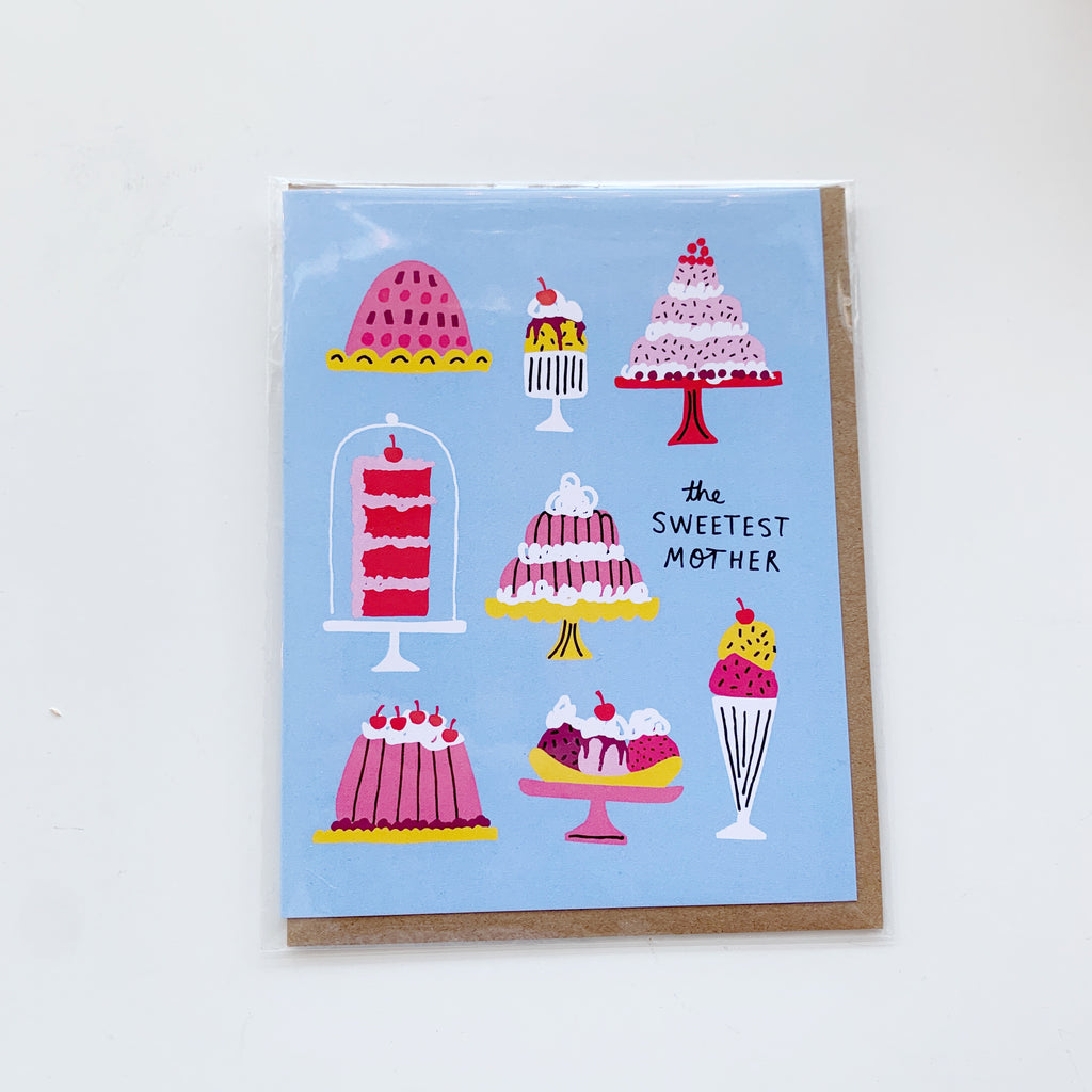 Card: Mothers Day, the Sweetest Mother - Majesty and Friends - available from Majesty and Friends