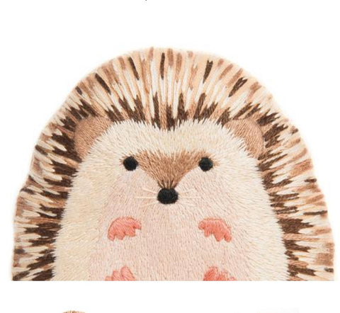 Embroider a Hedgehog!