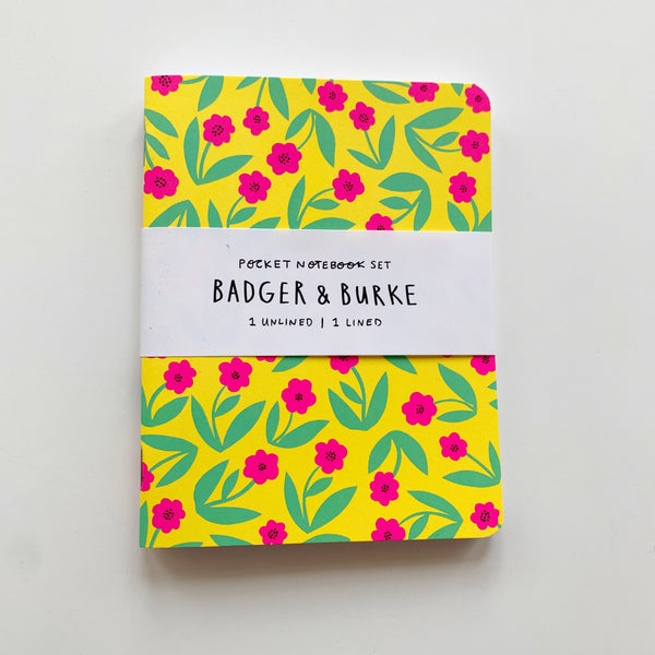 Notebook set by Badger and Burke - Badger and Burke - available from Majesty and Friends