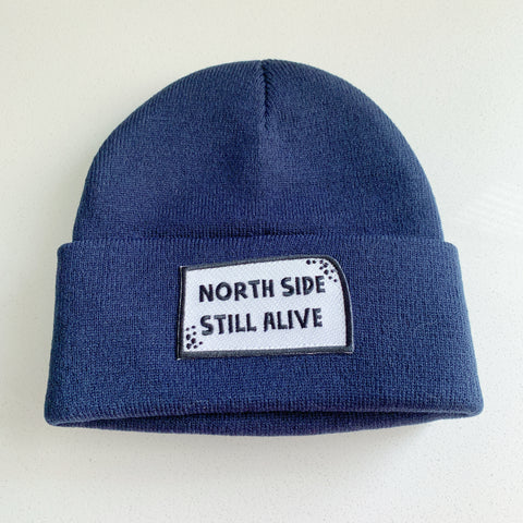 Northside Toque Navy Blue - Majesty and Friends - available from Majesty and Friends