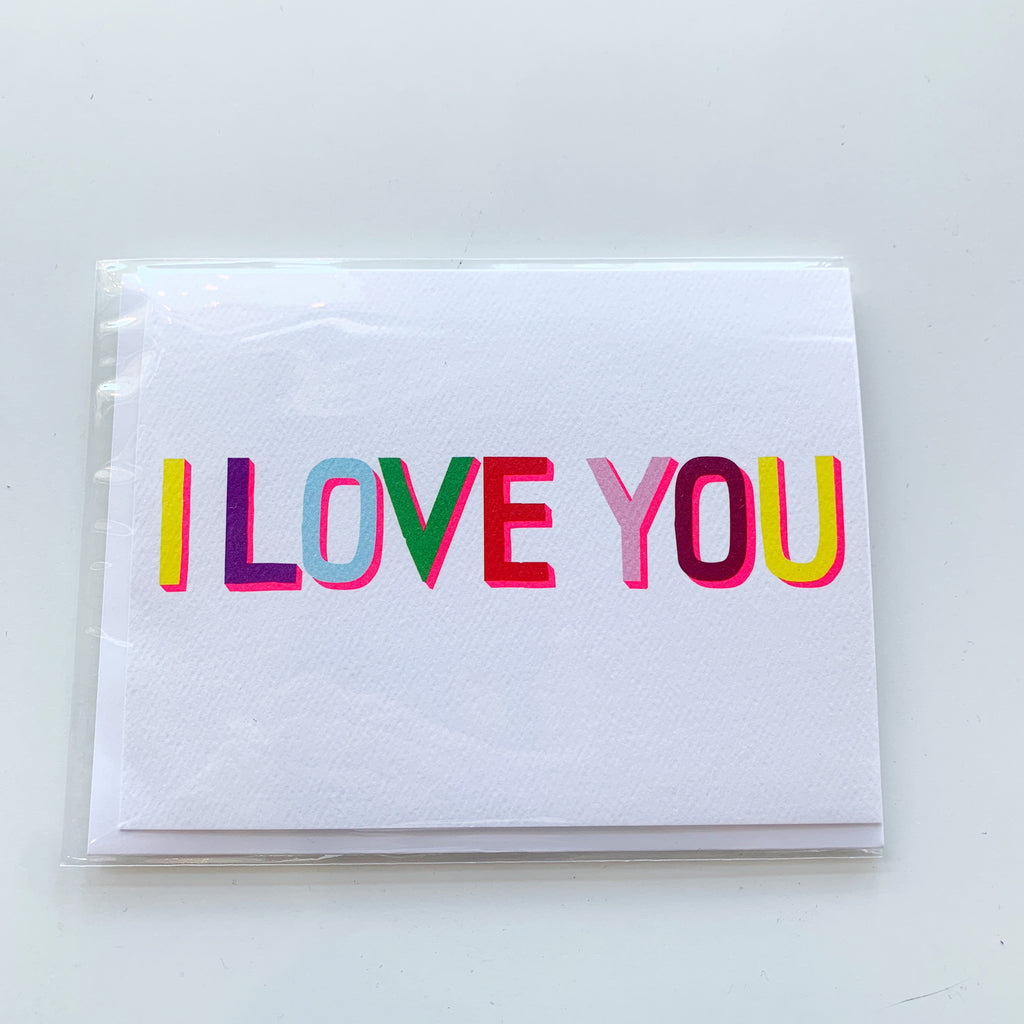 Card: I love You - Majesty and Friends - available from Majesty and Friends