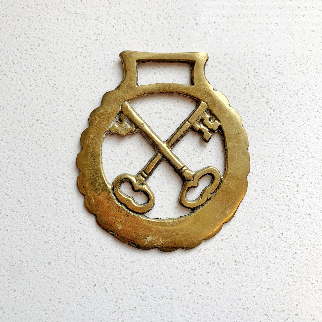 Brass Ornament Vintage Keys - Majesty and Friends - available from Majesty and Friends