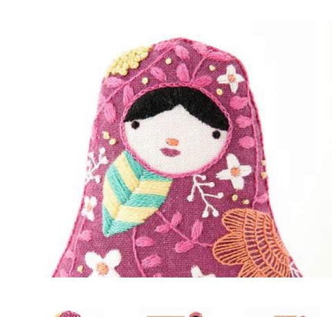 Embroider a Matryoshka Doll!