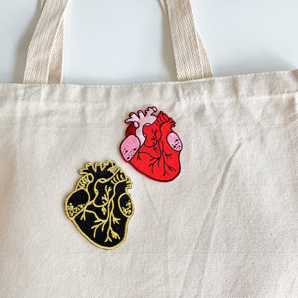 Anatomical Heart Sticker Patch - Majesty Industries - available from Majesty and Friends