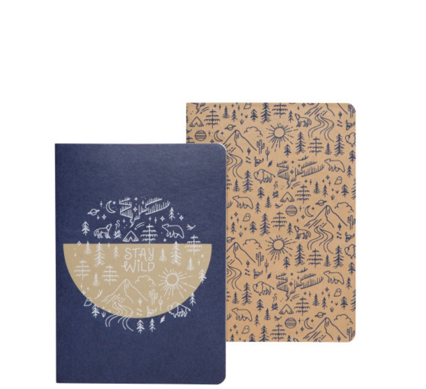 Danica Notebook Set Stay Wild - Danica - available from Majesty and Friends