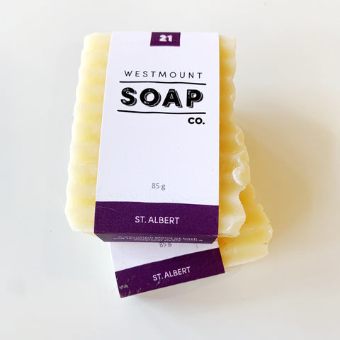 Westmount Soap St Albert - Westmount soap - available from Majesty and Friends