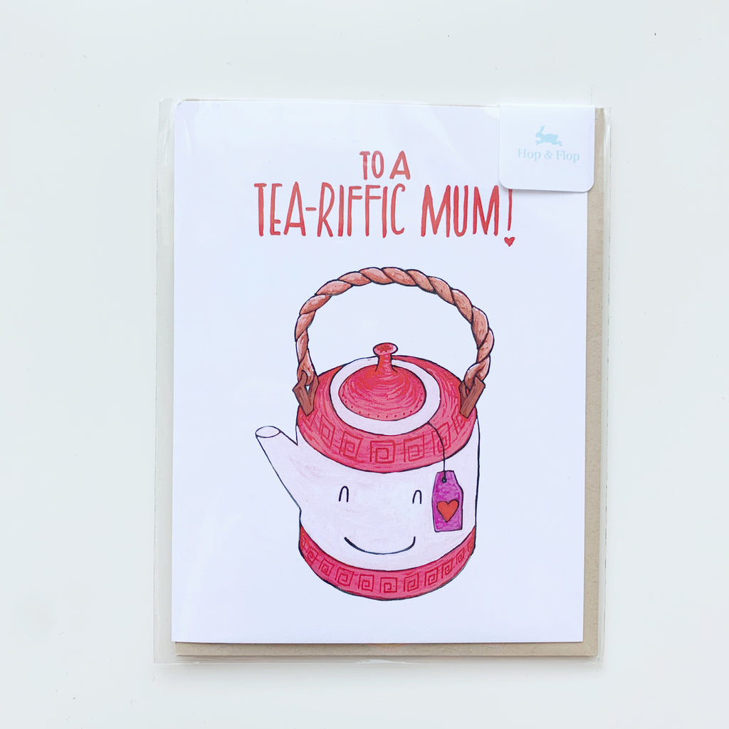 Card: Mothers Day Tea-riffic! - Majesty and Friends - available from Majesty and Friends