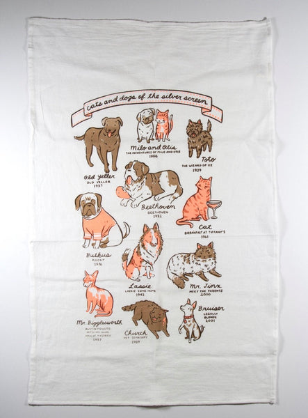 Claire Manning Illustrated Tea Towel - Claire Manning - available from Majesty and Friends