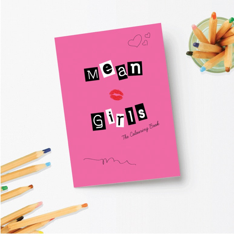Mean Girls Colouring Book - Party Mountain - available from Majesty and Friends