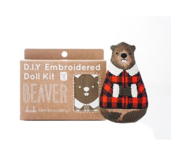 Embroider a Beaver!