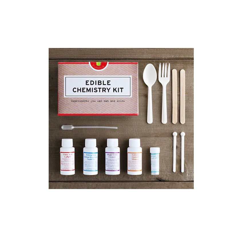 Edible chemistry kit! - Tate group - available from Majesty and Friends